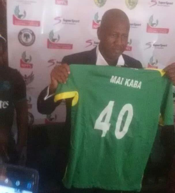 Plateau United Unveil Maikaba As New T/Adviser On Three-Year Deal