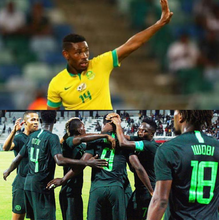 Bafana Captain, Hlatshwayo: We'll Be Ready To Face Different Nigeria