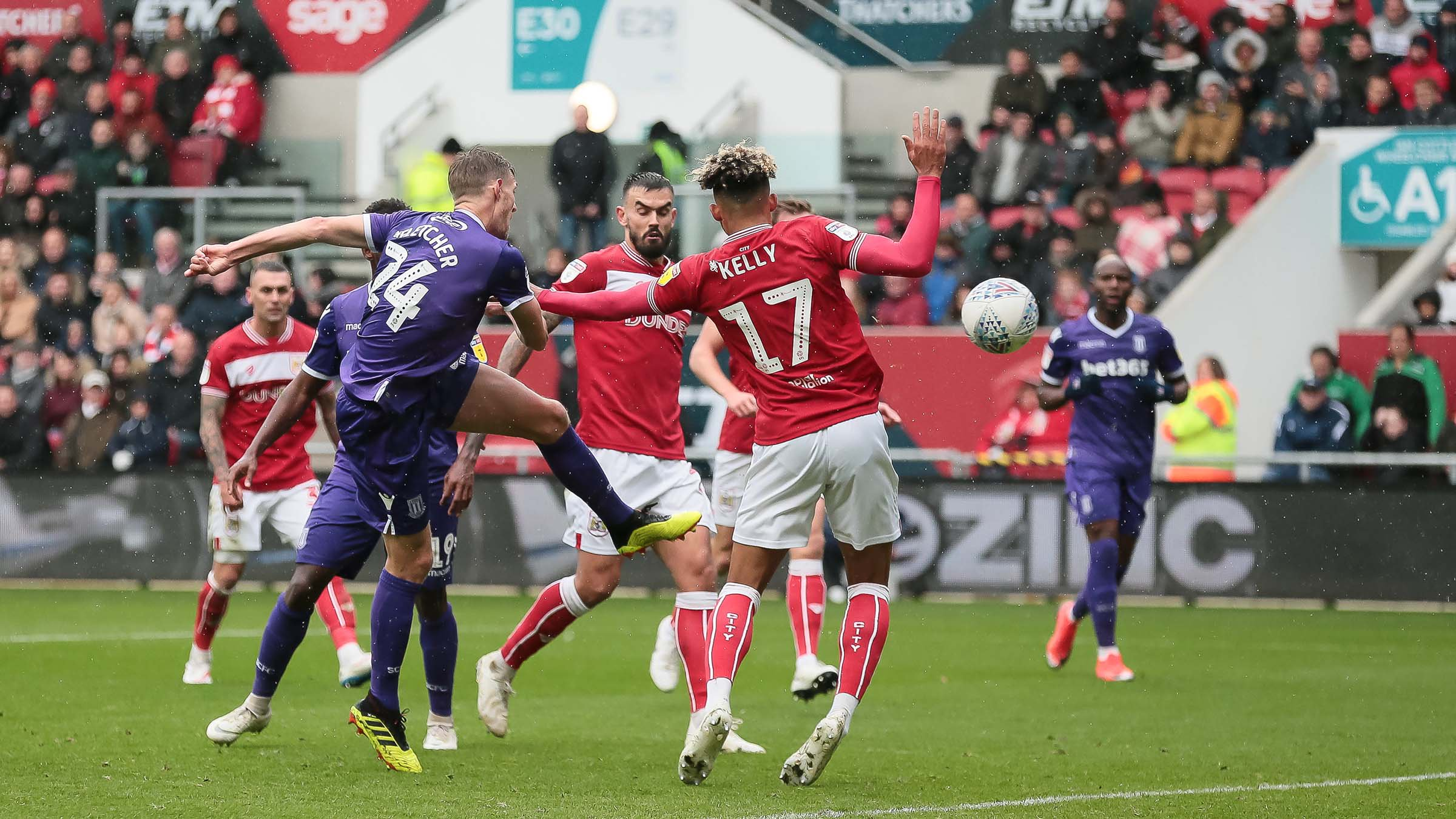 Championship: Etebo Missing In Action For Victors Stoke, Ajayi Features In Rotherham Draw