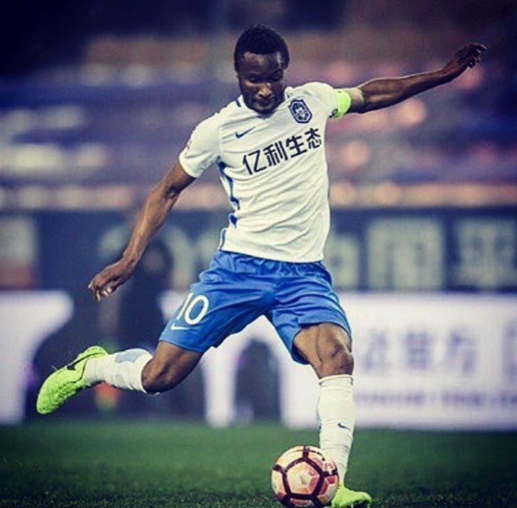 Mikel Ruled Out Of Remainder CSL Season  Over Injury