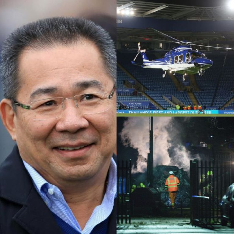 Leicester City Chairman Srivaddhnaprabha Feared Dead After Helicopter Crash