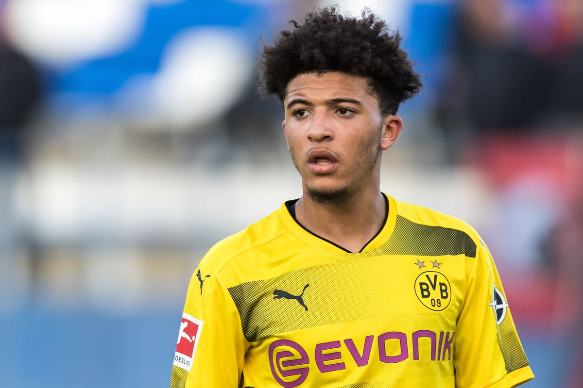 Reports: Manchester United Have Agreed £65million To sign Jadon Sancho