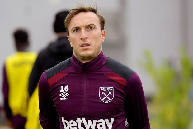 Noble Ruled Out For Hammers