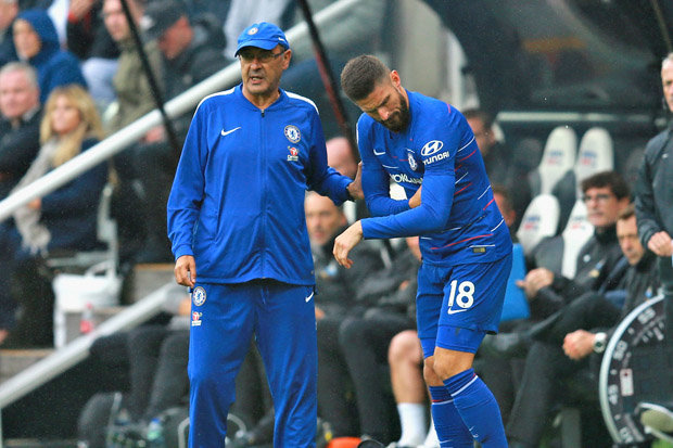 Shot-shy Giroud Not Worrying Sarri