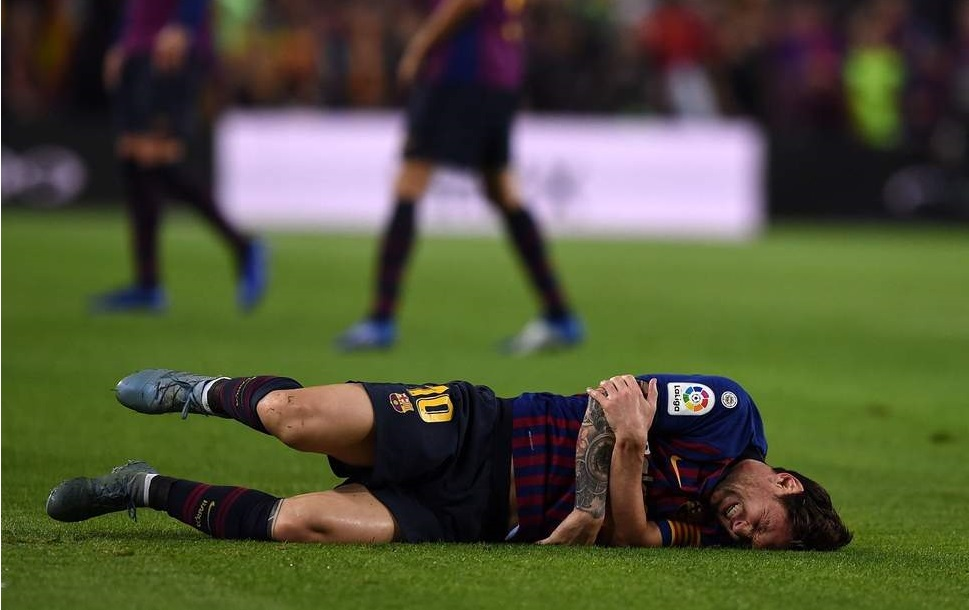 Messi Injury Sours Barca Win