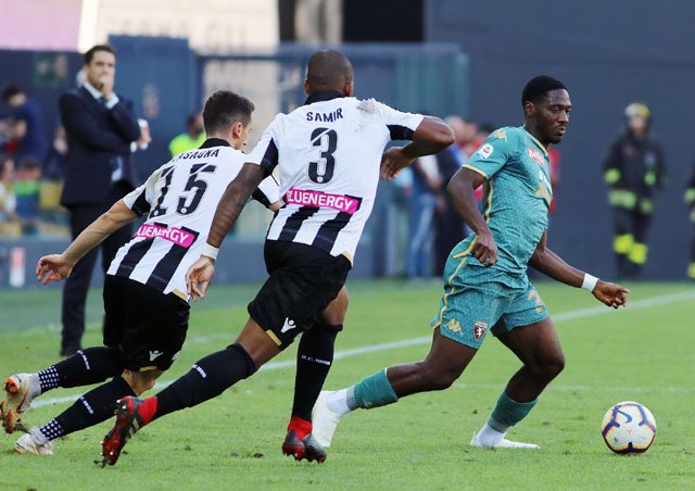 Aina Rejoins Torino After Eagles- Libya Clashes