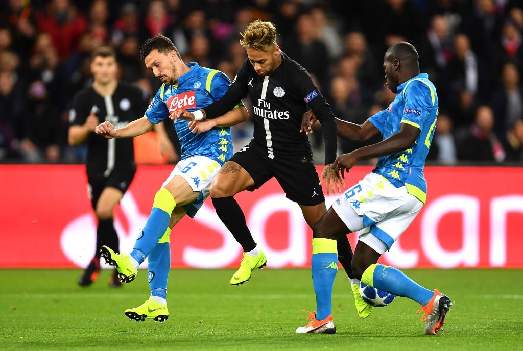UCL: PSG Survive Home Scare To Hold Rampant Napoli