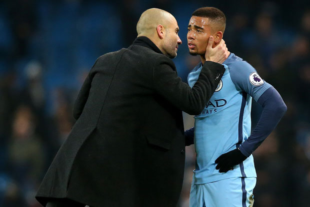 Pep Not Concerned Over Jesus Form