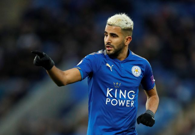 Mahrez pays tribute to Foxes owner