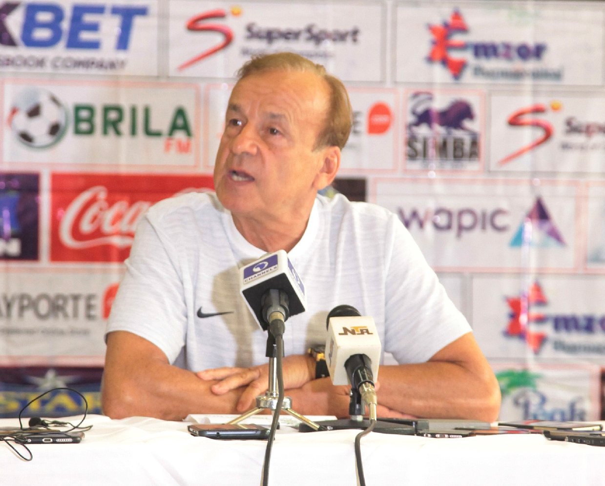Rohr Hails Eagles' Character After Nervy Win Against Libya In Sfax
