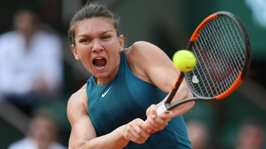 Halep Suffers slipped Disc