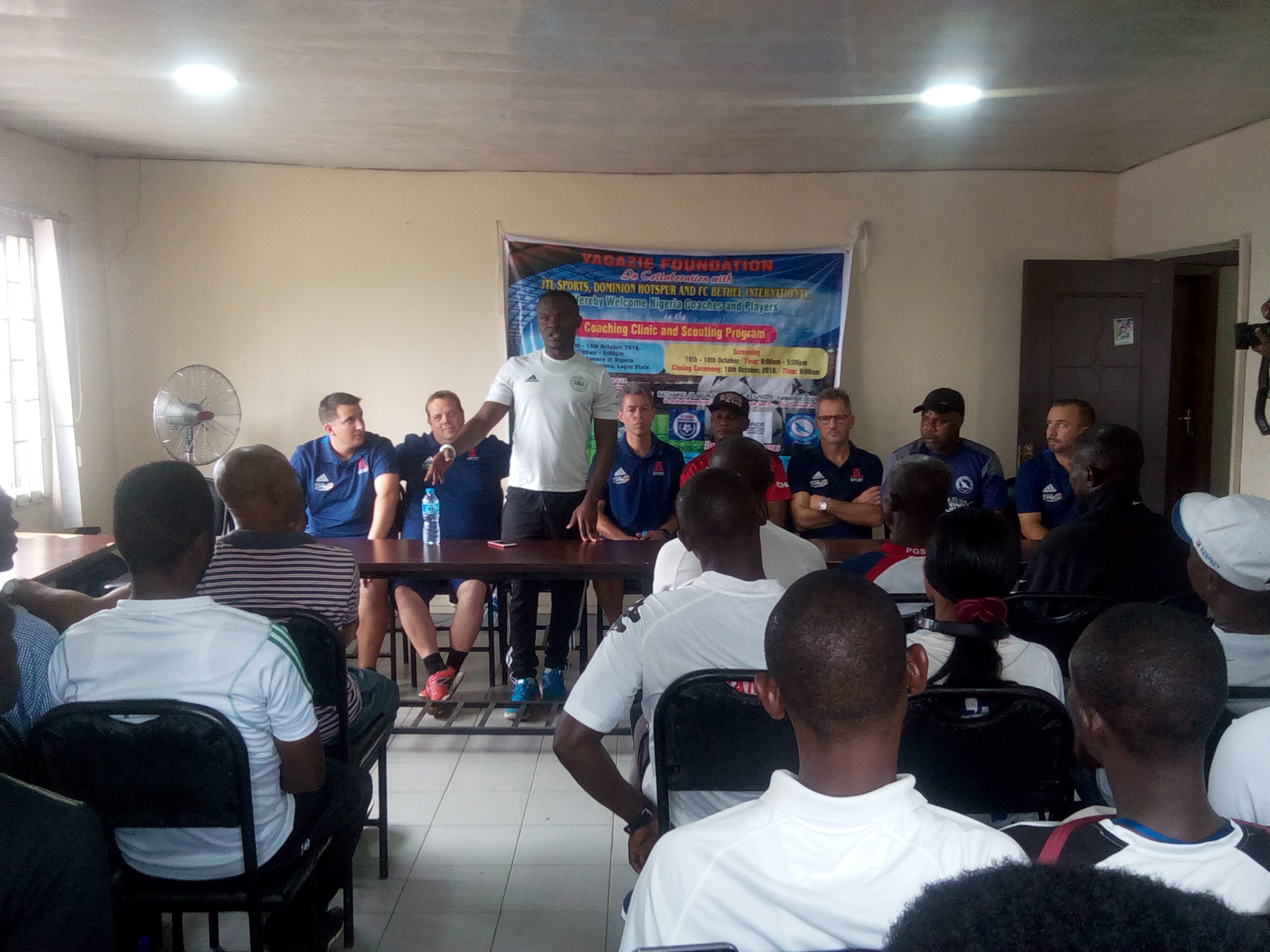 Yagazie Foundation Concludes Football Coaching, Scouting Programme