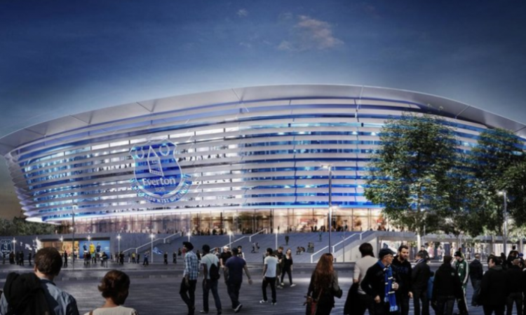 Everton Step Up New Stadium Plans And Concepts