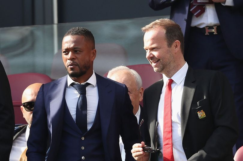 Evra's Eyes On United Could Be For Zidane