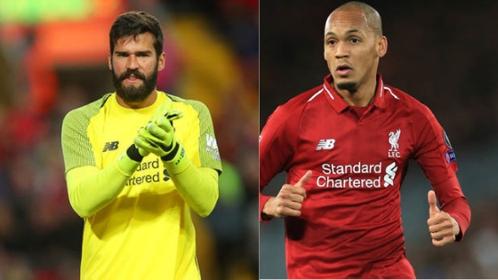 Alisson Impressed By Fabinho Impact