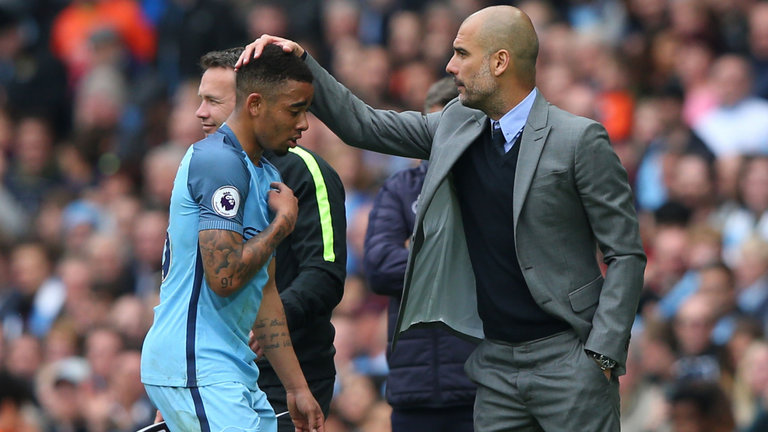Guardiola Issues Gabriel Jesus Apology