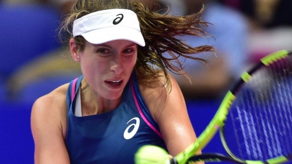 Konta reaches Last Four In Moscow