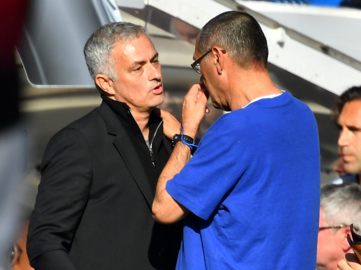 Sarri Apologises For Mourinho Bust Up