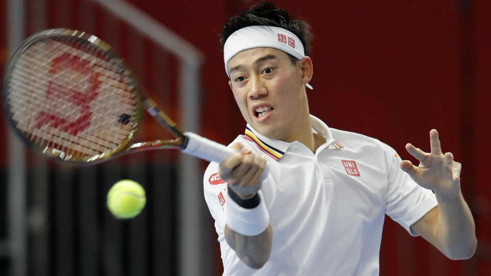 Nishikori Makes Semis On Home Soil