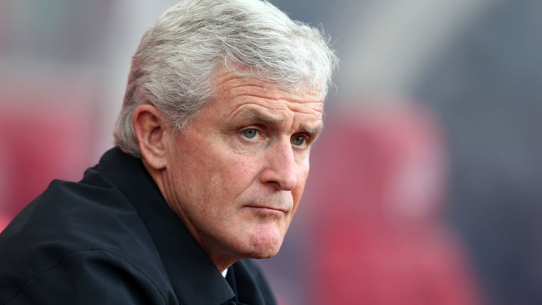 Hughes Upbeat On Saints' Struggles