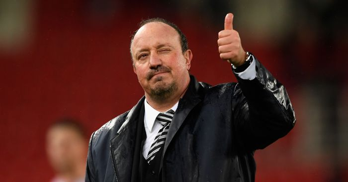 Benitez Hints At Ashley Progress