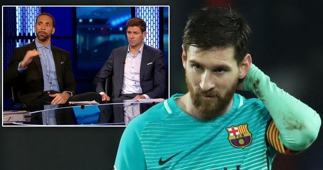 Ferdinand's Praise For 'Remote Control' Messi