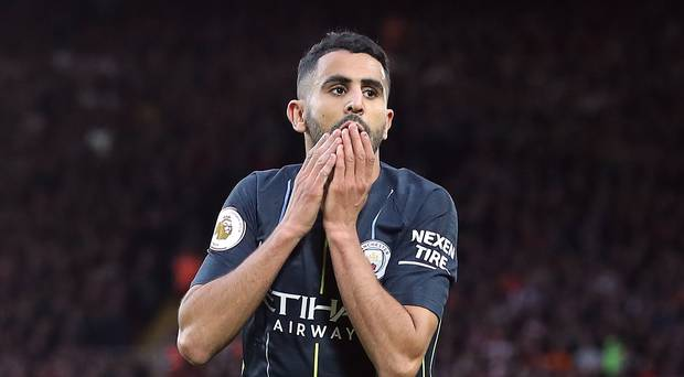 Mahrez Vows To Bounce Back