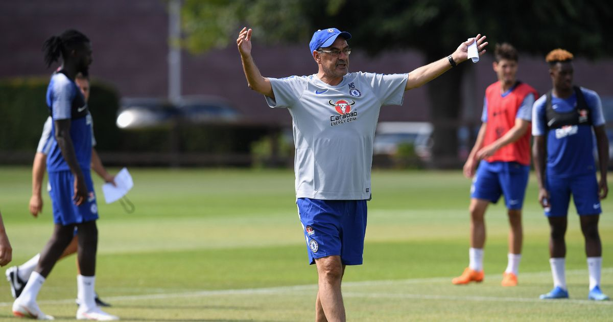 Sarri Wants His Blues To Be On Their Toes