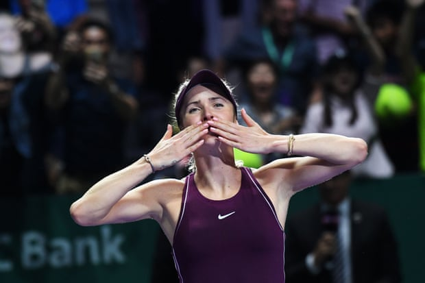 Svitolina Edges Stephens To WTA Crown