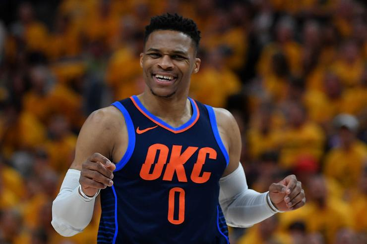 Westbrook Out Of Thunder Opener