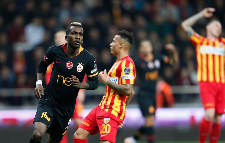 Onyekuru Dedicates Brace Vs Kayserispor To Suspended Galatasaray Coaches