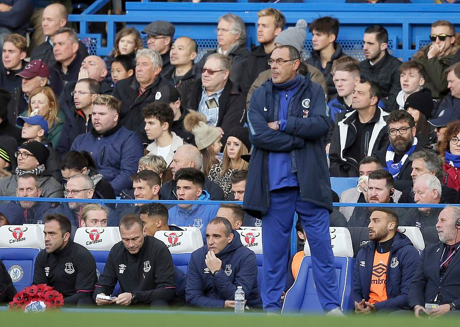 Chelsea Coach Sarri: We Have Mental Problem,  Can't Beat Man City To EPL Title