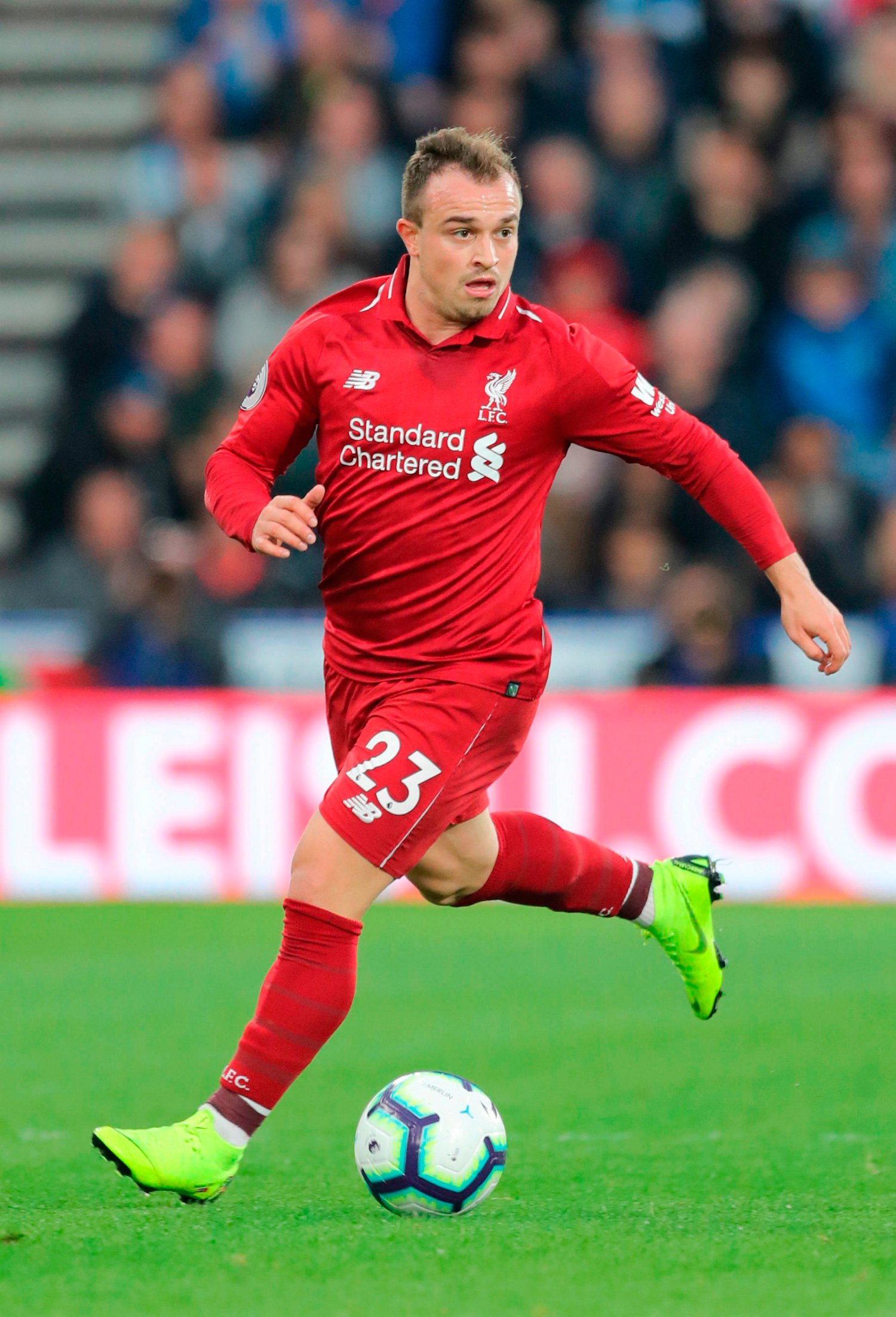 UCL: Shaqiri Out Of Liverpool Trip To Red Star Belgrade Over Political Reasons In Serbia