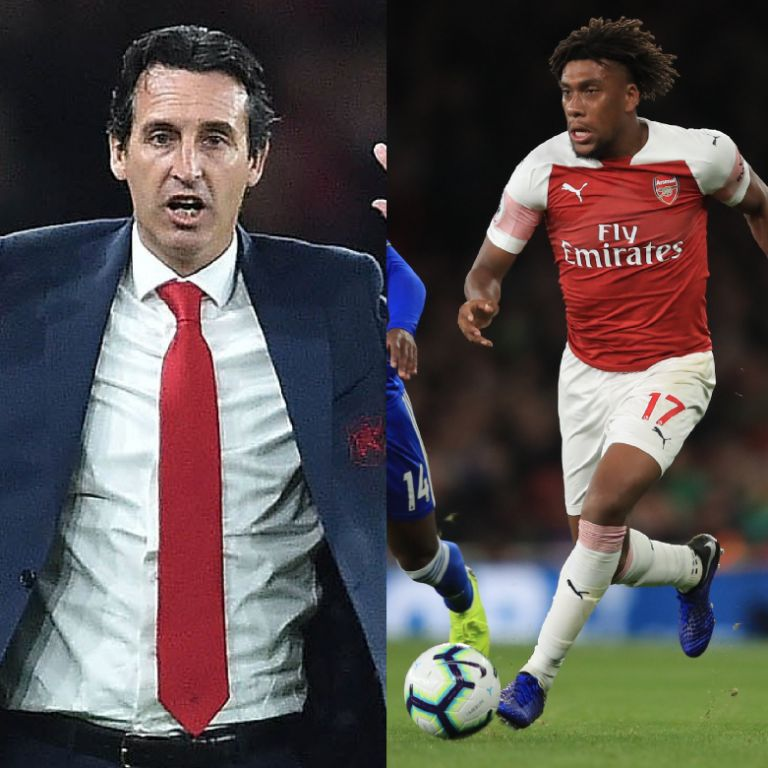 Iwobi Hails Emery For Arsenal's Impressive Form