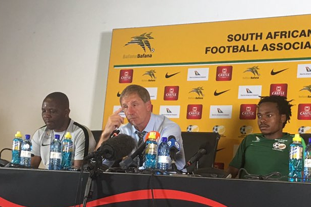 Baxter Disappointed With Bafana Draw Vs Super Eagles