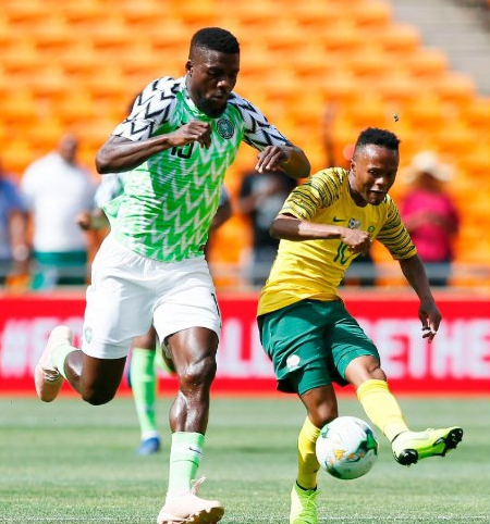 ABOVE AVERAGE: How Super Eagles Rated Vs Bafana Bafana