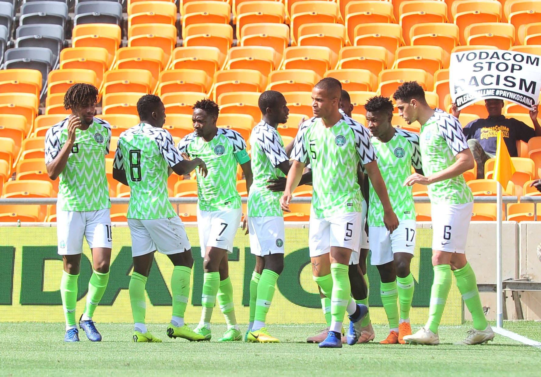 Rohr Talks Up Super Eagles' Positives Ahead AFCON 2019; Disallowed Goals Vs Bafana; Return of Mikel, Simon, Salisu
