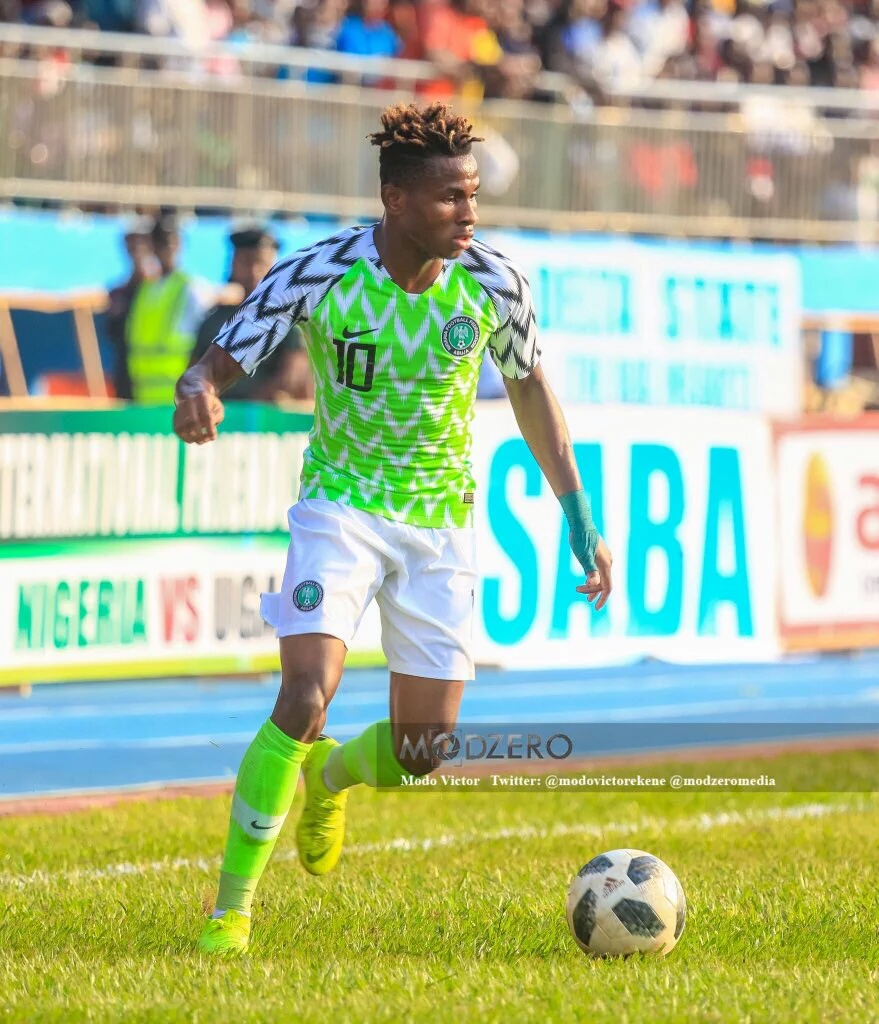Chukwueze:  My Super Eagles Debut Vs Uganda Marked Dream Year For Me