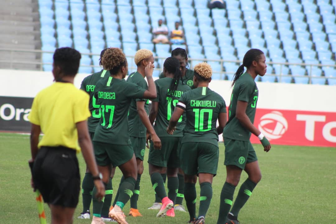 Rampant Super Falcons Maul Equatorial Guinea 6-0, Clash With Cameroon In AWCON 2018 Semis