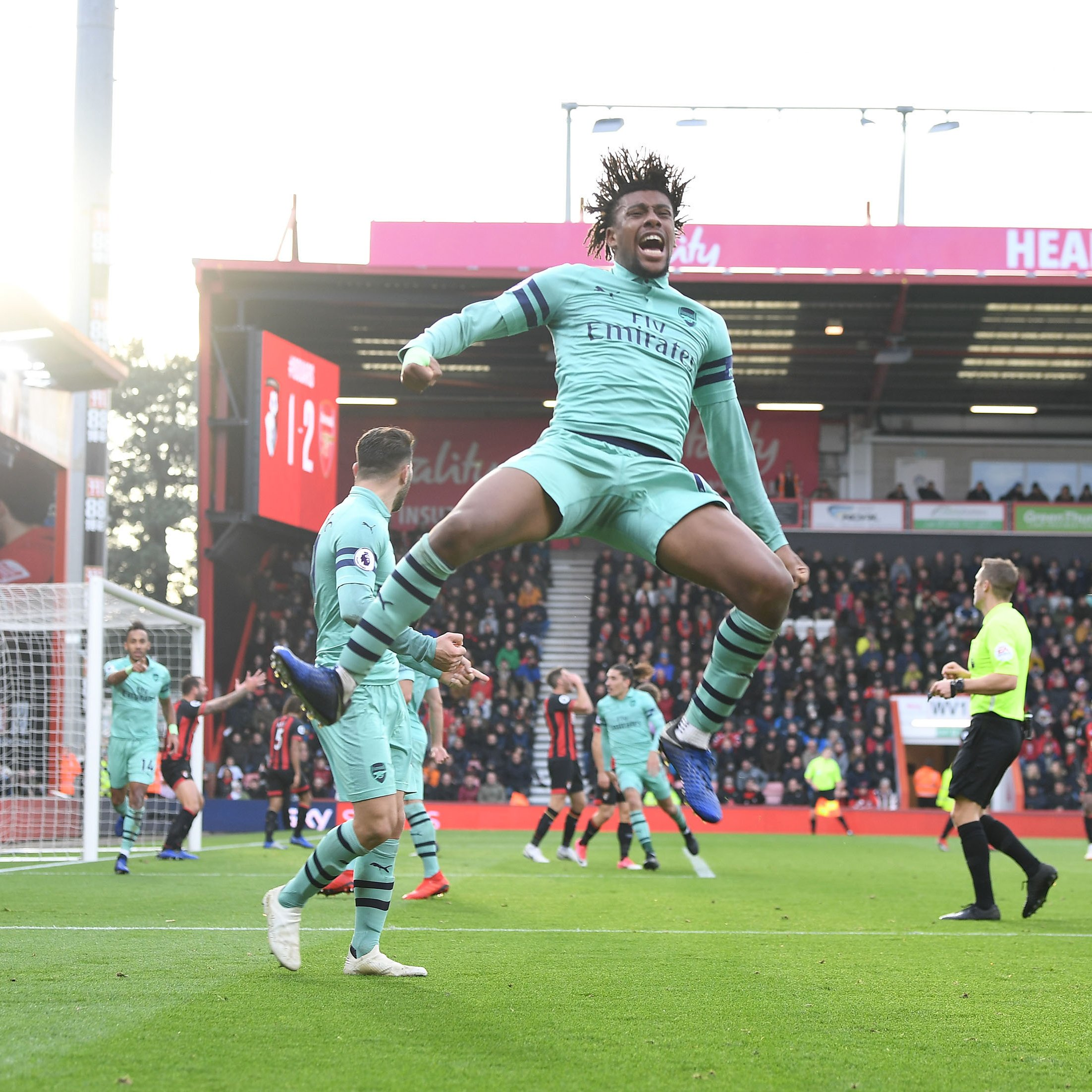 Iwobi Nominated For Arsenal Player Of The Month For November