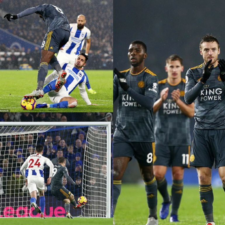 Brighton Boss Hughton Regrets 'Poor Penalty' Conceded Via Foul On Leicester's Iheanacho