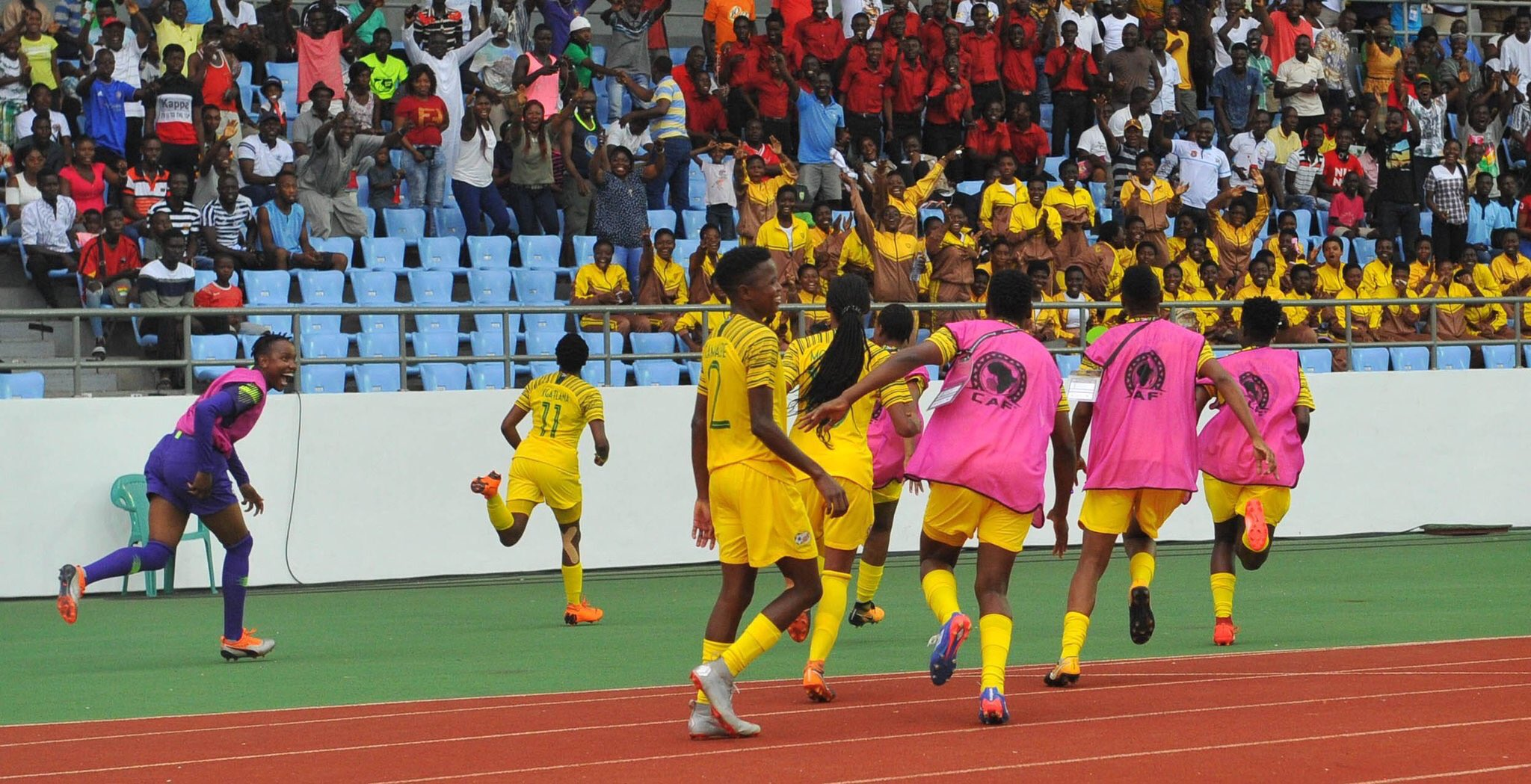AWCON 2018: South Africa Edge Mali, Face Nigeria In The  Final