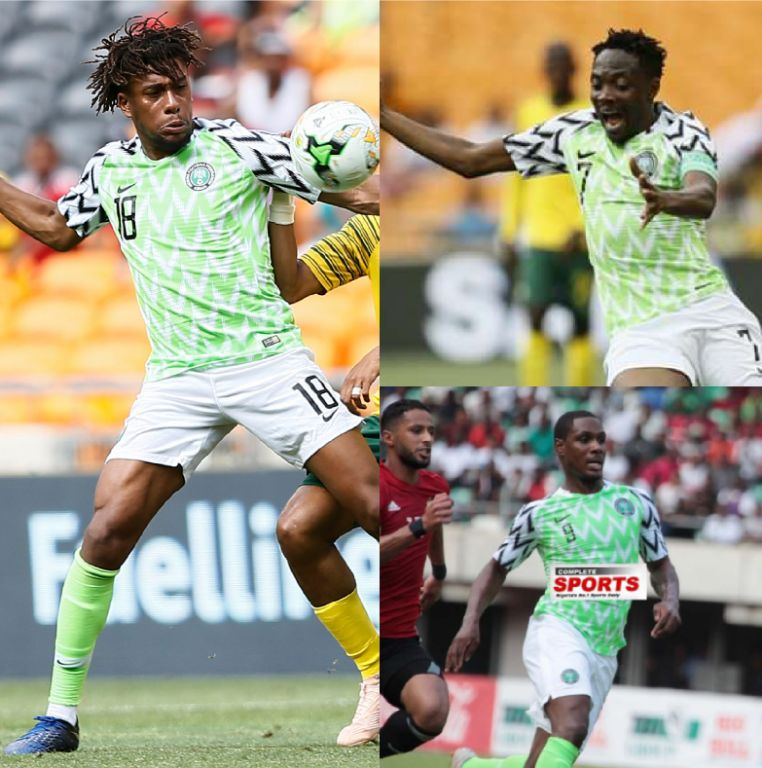 CAF Awards 2018: Rohr, Iwobi, Musa, Ighalo, Ndidi Nominated;   Oshoala, Oparanozie, Ordega, Ebi Vie For Women's Top Honour