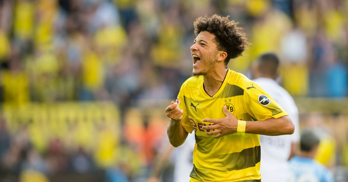PSG Join Race For England Starlet, Sancho