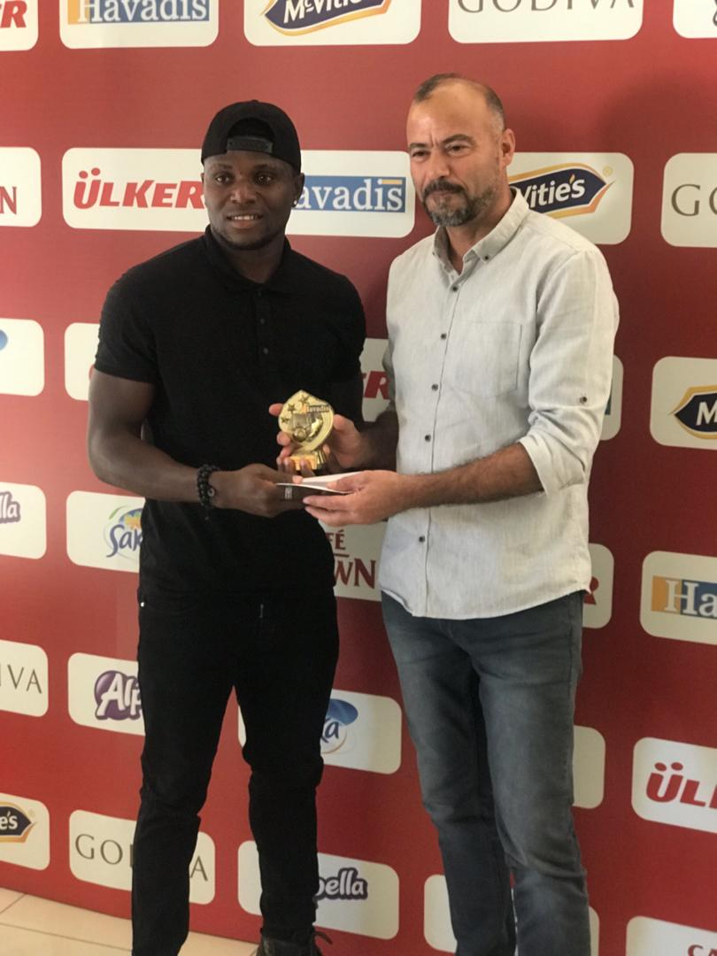 Okoli Wins Player of the Month Award In Northern Cyprus