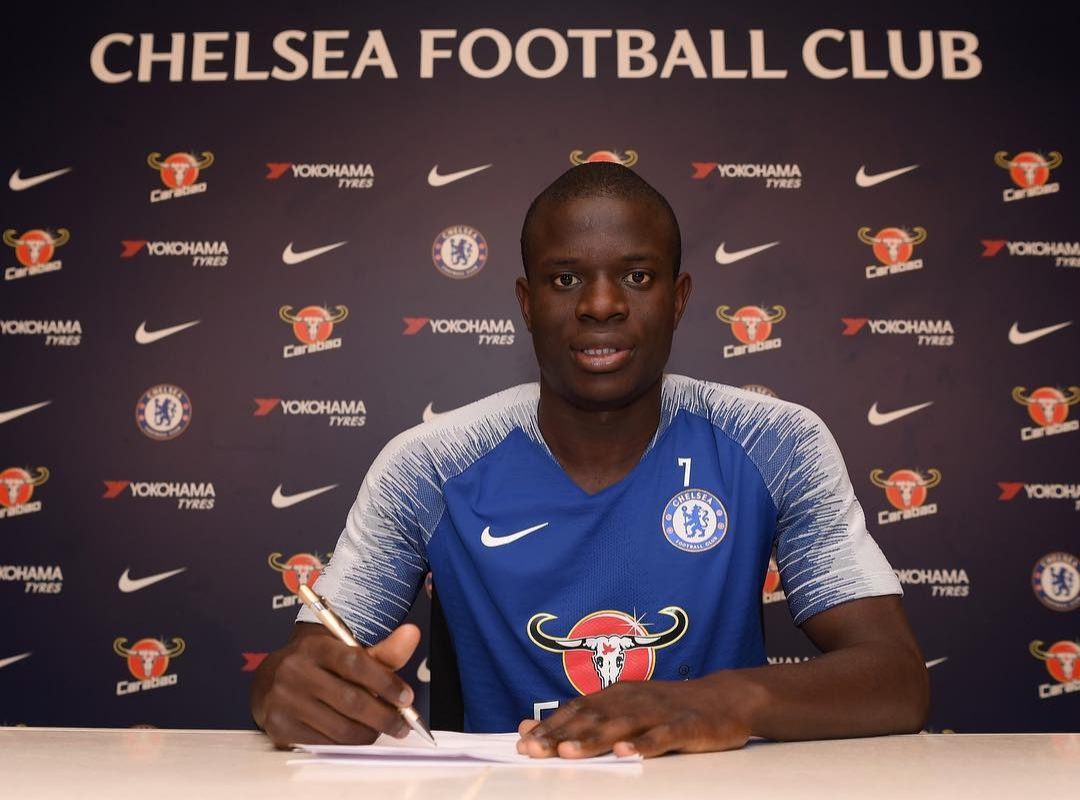 Kante Happy To Sign New Five-Year Chelsea Deal After 'Two Beautiful Seasons'
