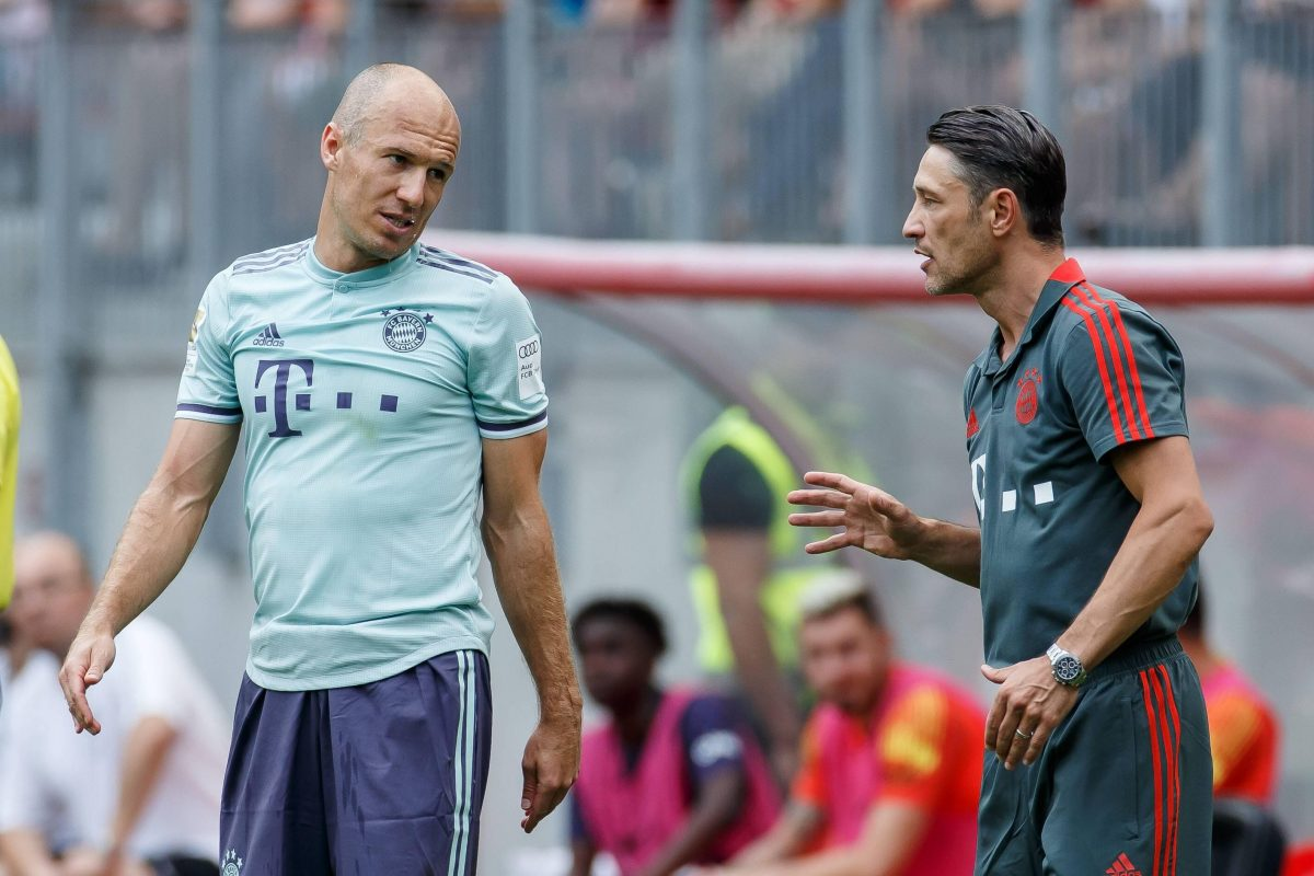 Robben Offers Kovac Support