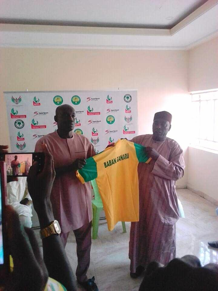 El-kanemi Unveil Babaganaru As New Technical Adviser