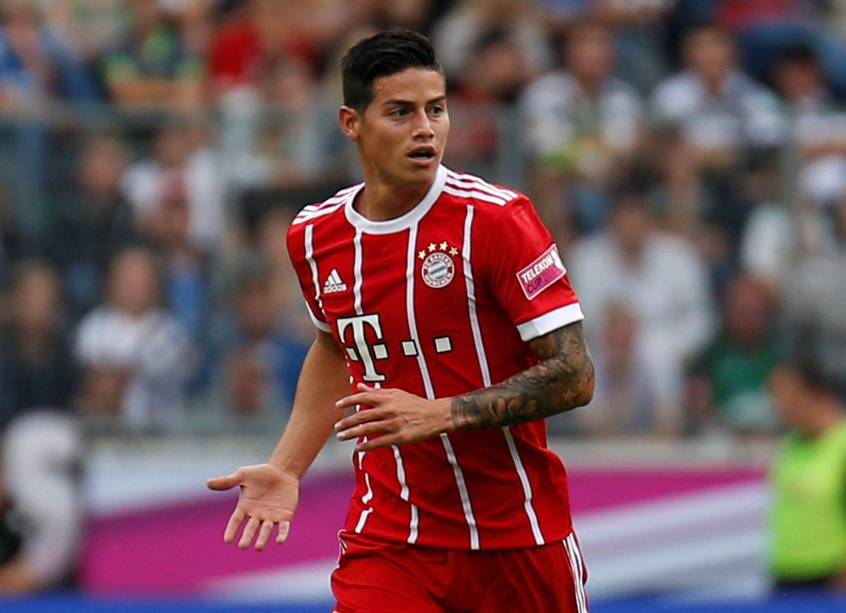 Bayern Won't Rush James Decision