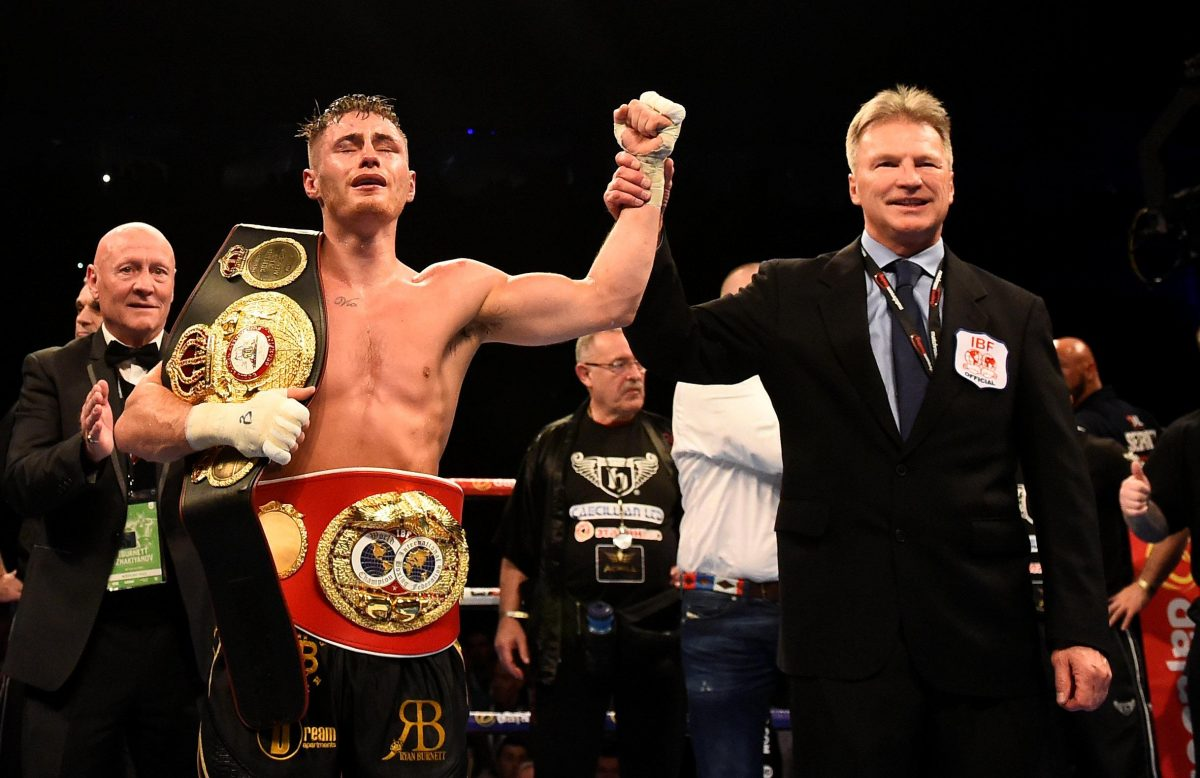 Burnett Crashes Out Of World Boxing Super Series